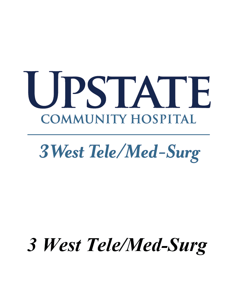 Upstate 3 West Tele/Med/Surg Logo