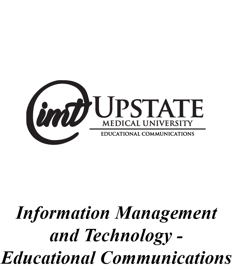 Upstate IMT Educational Communications Logo
