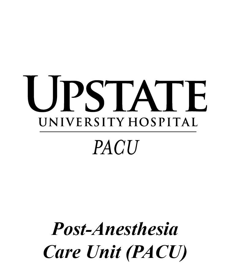 Upstate Post-Anesthesia Care Unit Logo