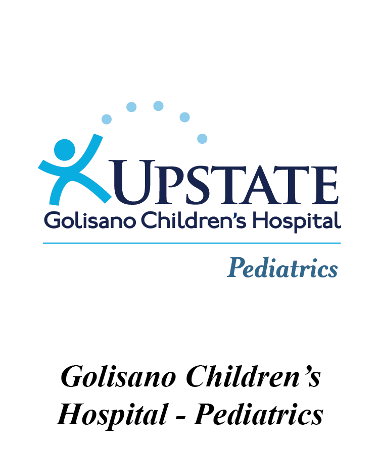 Upstate Golisano Children's Hospital Pediatrics Logo