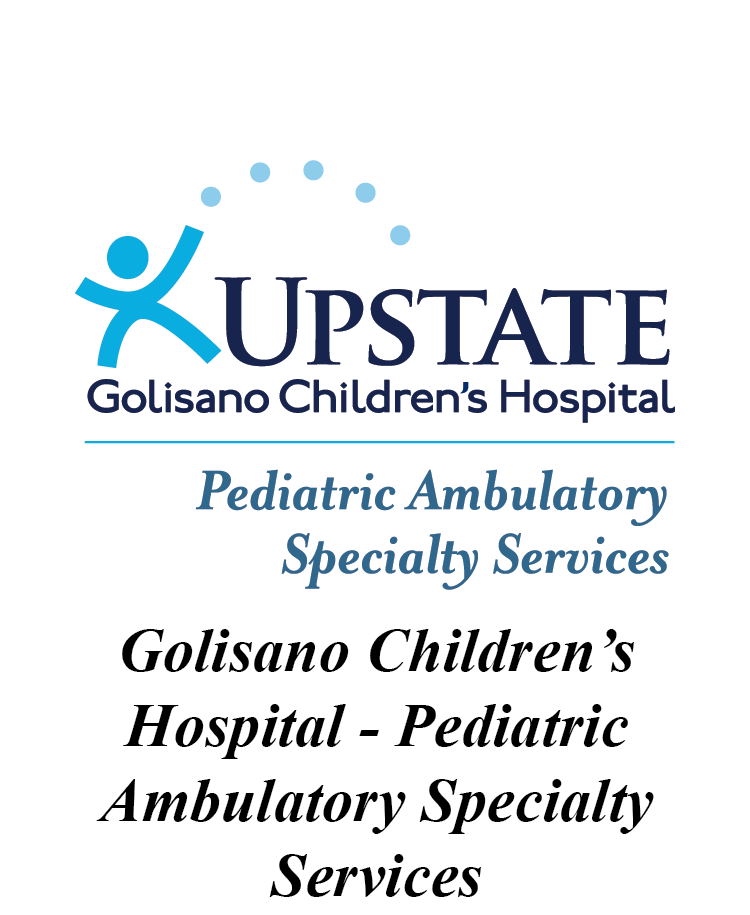 Upstate Golisano Children's Hospital Pediatric Ambulatory Specialty Services Logo