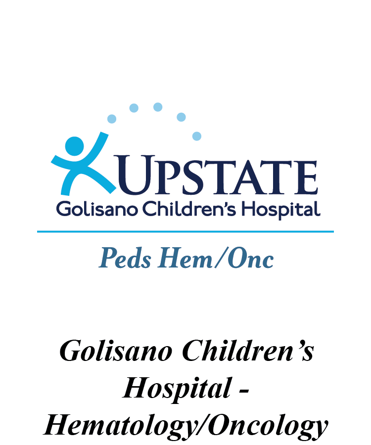 Upstate Golisano Children's Hospital Pediatric Hematology and Oncology Logo