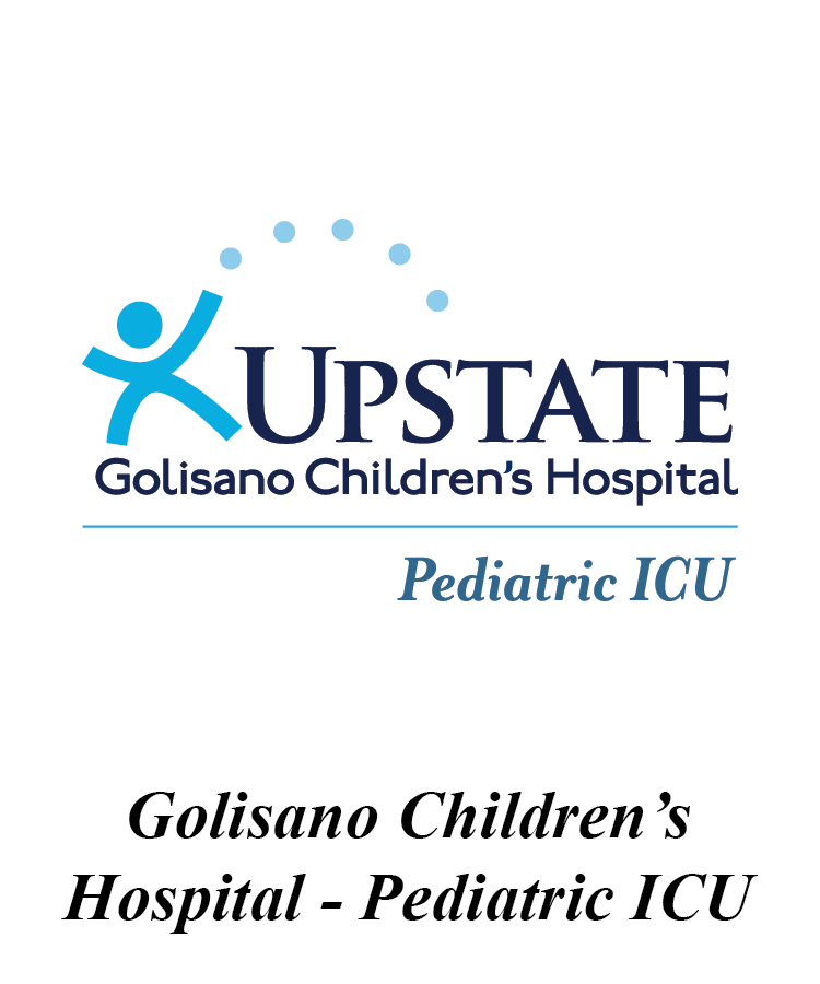 Upstate Golisano Children's Hospital Pediatric ICU Logo